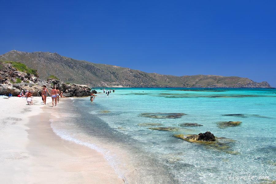 Фото моря и пляжа крит